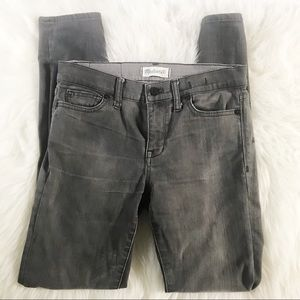 Madewell Grey Skinny Jeans